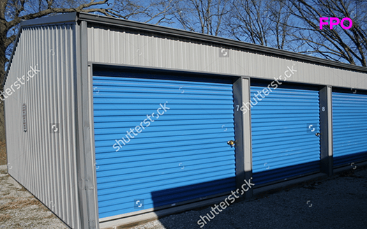 Steel shop blue
