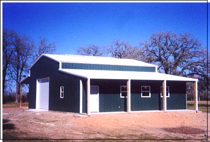 Building Options Steel Garages And Shops