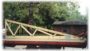 Large Framing Truss