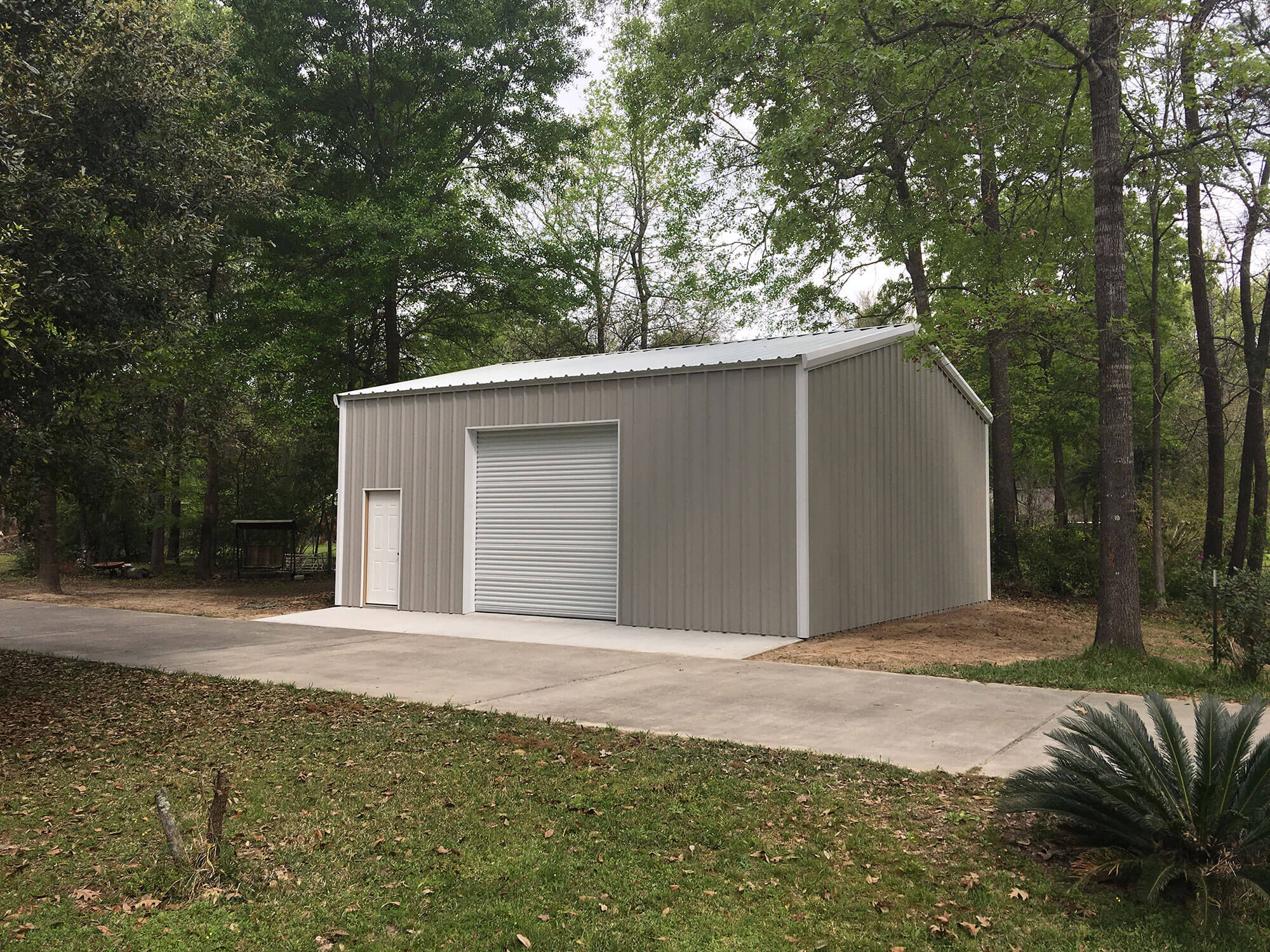 30'x30' Building - Steel Garages and Shops - 770