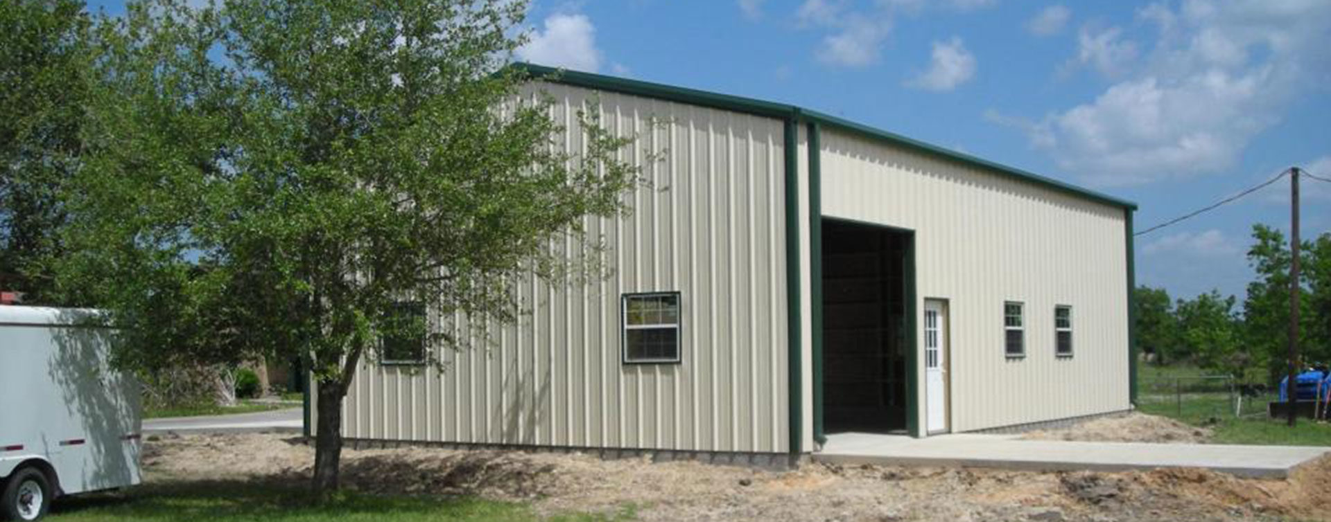 Steel Buildings Houston TX
