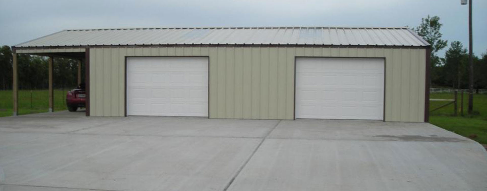steel buildings in houston