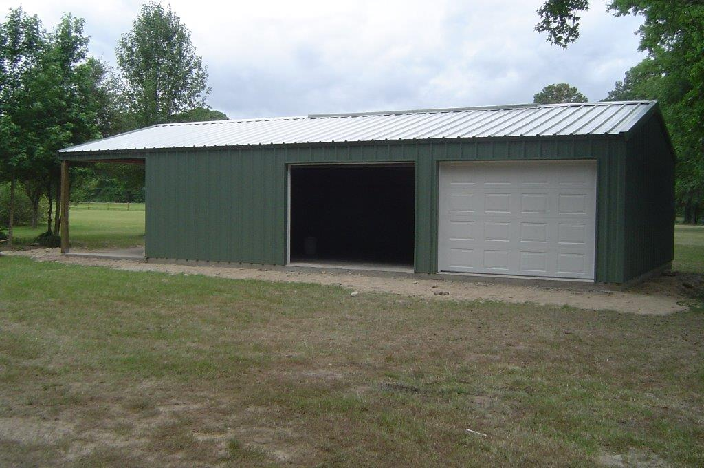 Commercial Metal Building TX