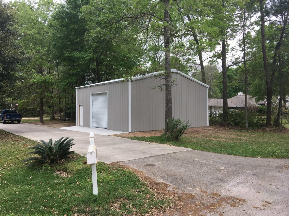 30 X30 Building Steel Garages And Shops 770