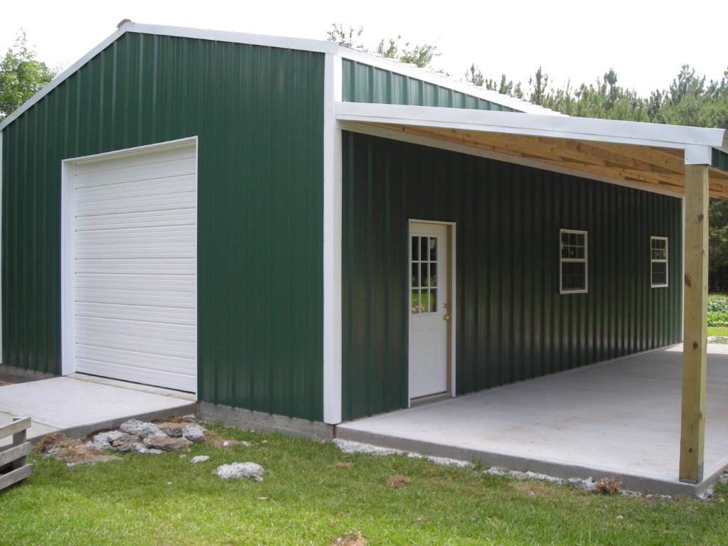 Steel Buildings Houston TX cement