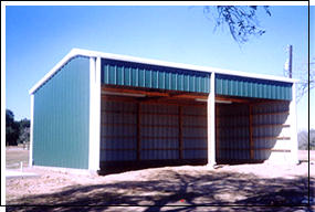 covered open storage